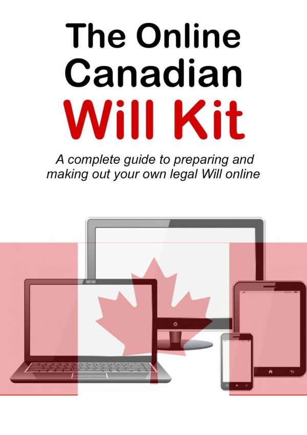 Online Canadian Will Kit Cover