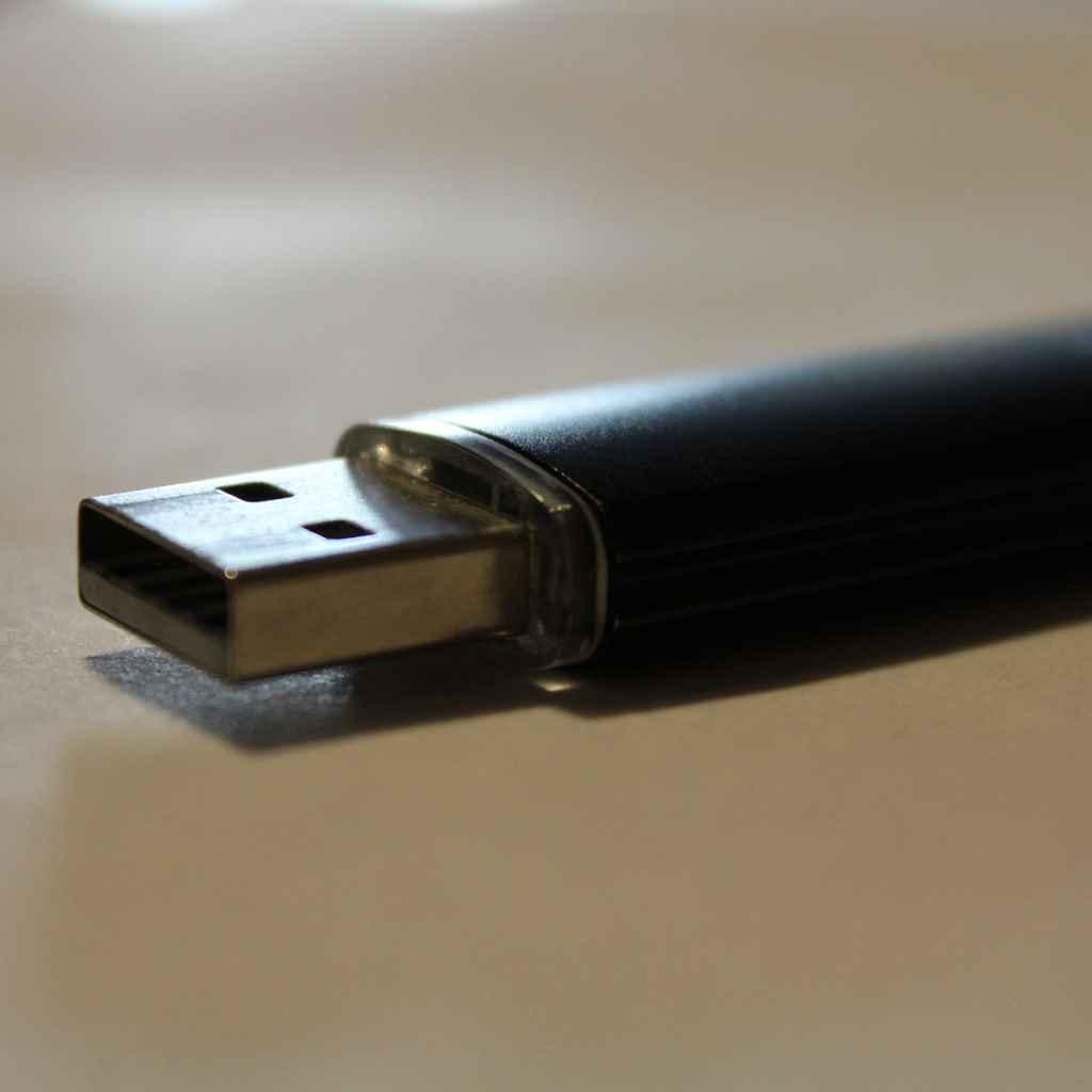image of USB thumbdrive